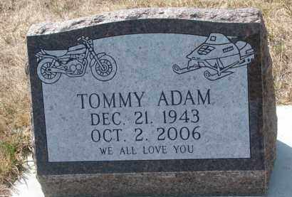 ADAM, TOMMY - Bon Homme County, South Dakota | TOMMY ADAM - South Dakota Gravestone Photos