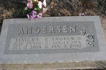 ANDERSEN, ANDREW D. - Bon Homme County, South Dakota | ANDREW D. ANDERSEN - South Dakota Gravestone Photos