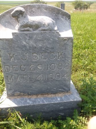 BECK, KARL J.  - Bon Homme County, South Dakota | KARL J.  BECK - South Dakota Gravestone Photos