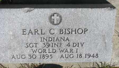 BISHOP, EARL C. (WW I) - Bon Homme County, South Dakota   EARL C. (WW I) BISHOP - South Dakota Gravestone Photos
