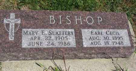 BISHOP, EARL CECIL - Bon Homme County, South Dakota | EARL CECIL BISHOP - South Dakota Gravestone Photos