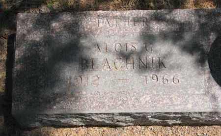 BLACHNIK, ALOIS G. - Bon Homme County, South Dakota   ALOIS G. BLACHNIK - South Dakota Gravestone Photos