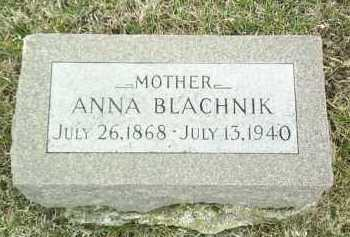 BLACHNIK, ANNA - Bon Homme County, South Dakota   ANNA BLACHNIK - South Dakota Gravestone Photos