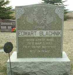 BLACHNIK, EDWART - Bon Homme County, South Dakota | EDWART BLACHNIK - South Dakota Gravestone Photos