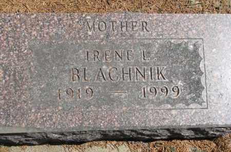 BLACHNIK, IRENE L. - Bon Homme County, South Dakota   IRENE L. BLACHNIK - South Dakota Gravestone Photos