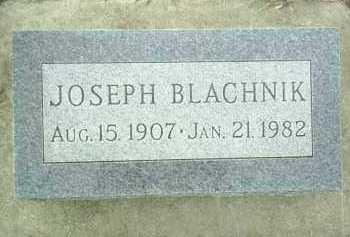 BLACHNIK, JOSEPH - Bon Homme County, South Dakota | JOSEPH BLACHNIK - South Dakota Gravestone Photos
