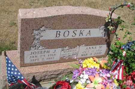 BOSKA, ANNA M. - Bon Homme County, South Dakota | ANNA M. BOSKA - South Dakota Gravestone Photos