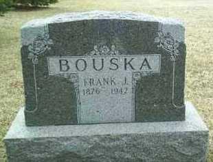 BOUSKA, FRANK - Bon Homme County, South Dakota   FRANK BOUSKA - South Dakota Gravestone Photos