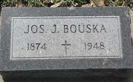 BOUSKA, JOS. J. - Bon Homme County, South Dakota   JOS. J. BOUSKA - South Dakota Gravestone Photos