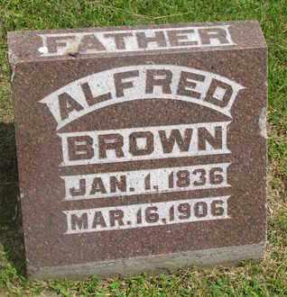 BROWN, ALFRED - Bon Homme County, South Dakota | ALFRED BROWN - South Dakota Gravestone Photos