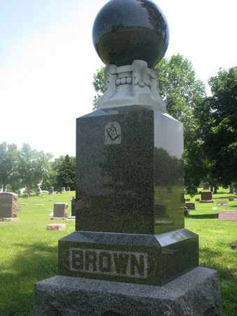 BROWN, FAMILY MONUMENT - Bon Homme County, South Dakota   FAMILY MONUMENT BROWN - South Dakota Gravestone Photos