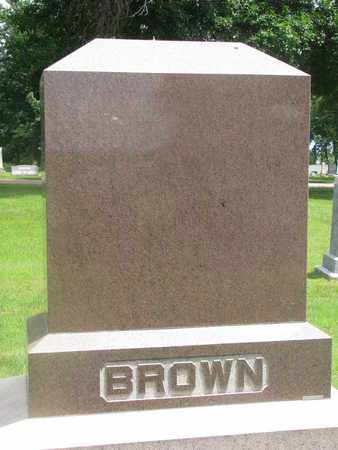 BROWN, FAMILY MONUMENT - Bon Homme County, South Dakota | FAMILY MONUMENT BROWN - South Dakota Gravestone Photos