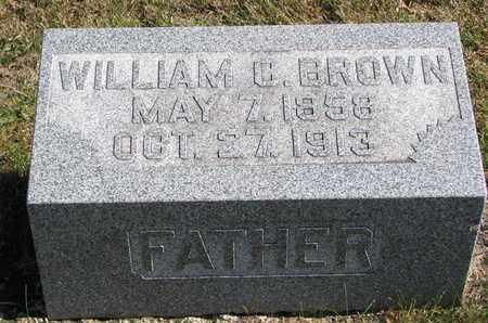 BROWN, WILLIAM C. - Bon Homme County, South Dakota | WILLIAM C. BROWN - South Dakota Gravestone Photos