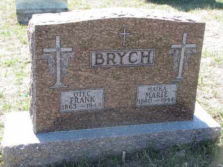 BRYCH, FRANK - Bon Homme County, South Dakota | FRANK BRYCH - South Dakota Gravestone Photos