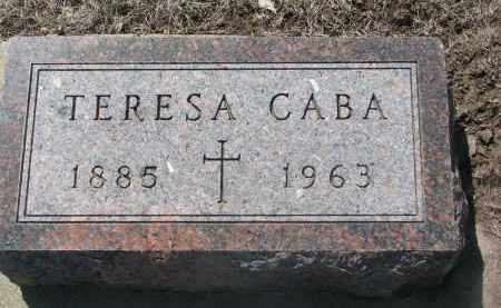 CABA, TERESA - Bon Homme County, South Dakota | TERESA CABA - South Dakota Gravestone Photos
