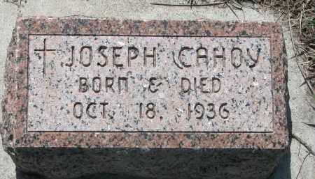 CAHOY, JOSEPH - Bon Homme County, South Dakota | JOSEPH CAHOY - South Dakota Gravestone Photos