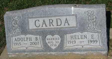 CARDA, HELEN E. - Bon Homme County, South Dakota   HELEN E. CARDA - South Dakota Gravestone Photos