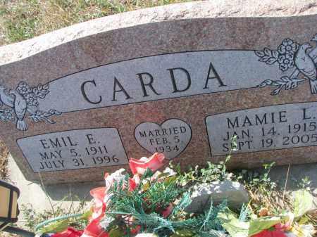 CARDA, EMIL E. - Bon Homme County, South Dakota | EMIL E. CARDA - South Dakota Gravestone Photos