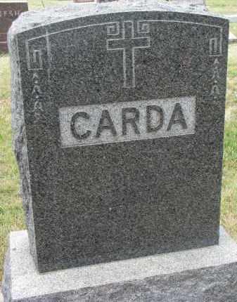 CARDA, FAMILY STONE - Bon Homme County, South Dakota | FAMILY STONE CARDA - South Dakota Gravestone Photos