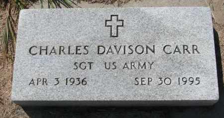 CARR, CHARLES DAVISON - Bon Homme County, South Dakota   CHARLES DAVISON CARR - South Dakota Gravestone Photos