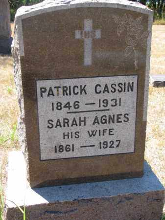 CASSIN, PATRICK - Bon Homme County, South Dakota   PATRICK CASSIN - South Dakota Gravestone Photos