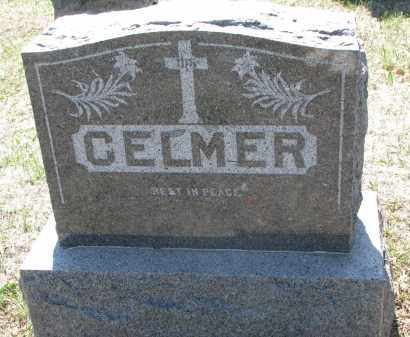 CELMER, PLOT STONE - Bon Homme County, South Dakota | PLOT STONE CELMER - South Dakota Gravestone Photos