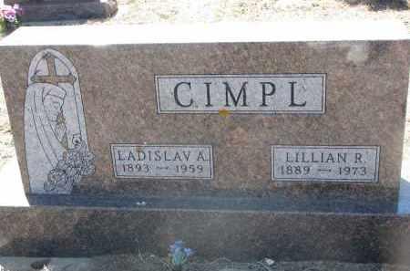 CIMPL, LILLIAN R. - Bon Homme County, South Dakota   LILLIAN R. CIMPL - South Dakota Gravestone Photos