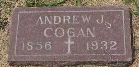 COGAN, ANDREW J. - Bon Homme County, South Dakota | ANDREW J. COGAN - South Dakota Gravestone Photos