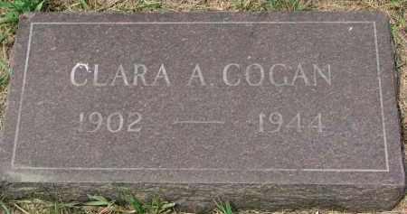 COGAN, CLARA A. - Bon Homme County, South Dakota | CLARA A. COGAN - South Dakota Gravestone Photos
