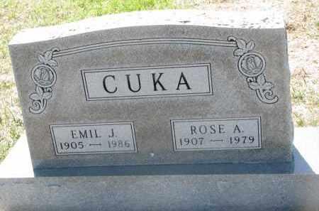 CUKA, ROSE A. - Bon Homme County, South Dakota | ROSE A. CUKA - South Dakota Gravestone Photos