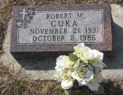 CUKA, ROBERT M. - Bon Homme County, South Dakota   ROBERT M. CUKA - South Dakota Gravestone Photos