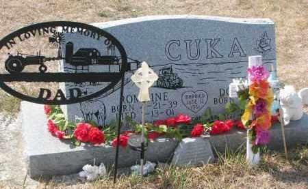 CUKA, ROMAINE - Bon Homme County, South Dakota | ROMAINE CUKA - South Dakota Gravestone Photos