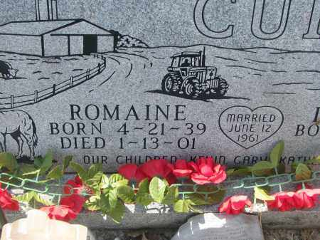CUKA, ROMAINE (CLOSEUP) - Bon Homme County, South Dakota | ROMAINE (CLOSEUP) CUKA - South Dakota Gravestone Photos