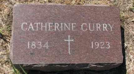 CURRY, CATHERINE - Bon Homme County, South Dakota   CATHERINE CURRY - South Dakota Gravestone Photos