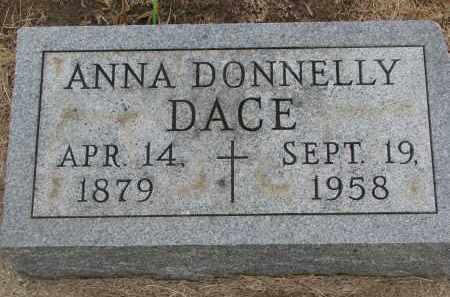DACE, ANNA - Bon Homme County, South Dakota | ANNA DACE - South Dakota Gravestone Photos
