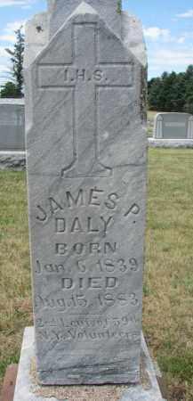 DALY, JAMES P. - Bon Homme County, South Dakota   JAMES P. DALY - South Dakota Gravestone Photos