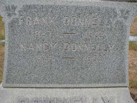 DONNELLY, NANCY (CLOSEUP) - Bon Homme County, South Dakota | NANCY (CLOSEUP) DONNELLY - South Dakota Gravestone Photos
