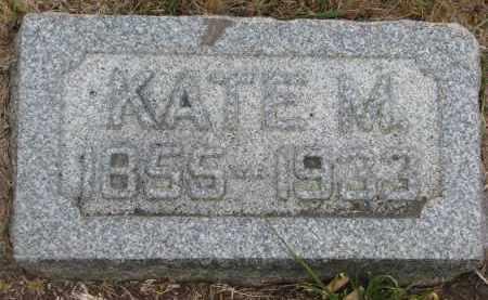 DONNELLY, KATE M. - Bon Homme County, South Dakota | KATE M. DONNELLY - South Dakota Gravestone Photos