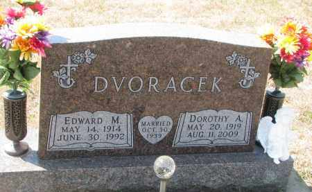 DVORACEK, DOROTHY A. - Bon Homme County, South Dakota | DOROTHY A. DVORACEK - South Dakota Gravestone Photos