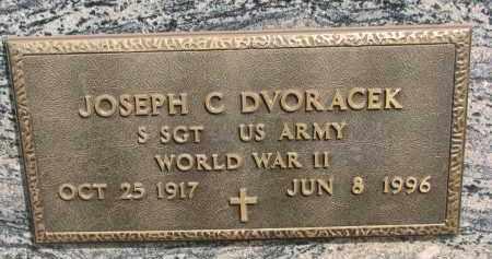 DVORACEK, JOSEPH C. (WW II) - Bon Homme County, South Dakota | JOSEPH C. (WW II) DVORACEK - South Dakota Gravestone Photos