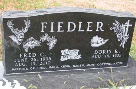 FIEDLER, FRED C. - Bon Homme County, South Dakota | FRED C. FIEDLER - South Dakota Gravestone Photos