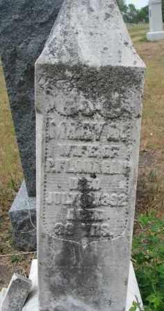 FLANAGAN, MARY A. - Bon Homme County, South Dakota   MARY A. FLANAGAN - South Dakota Gravestone Photos