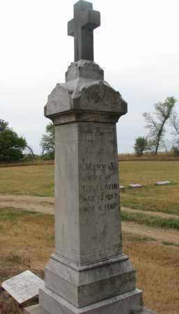 FLAVIN, MARY J. - Bon Homme County, South Dakota   MARY J. FLAVIN - South Dakota Gravestone Photos