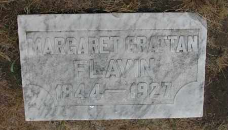 BRATTAN FLAVIN, MARGARET - Bon Homme County, South Dakota | MARGARET BRATTAN FLAVIN - South Dakota Gravestone Photos