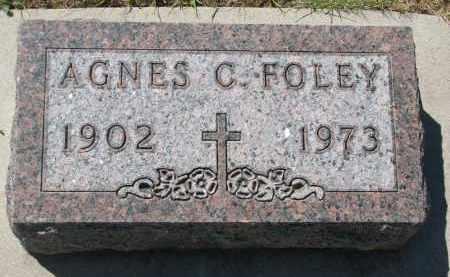 FOLEY, AGNES C. - Bon Homme County, South Dakota | AGNES C. FOLEY - South Dakota Gravestone Photos