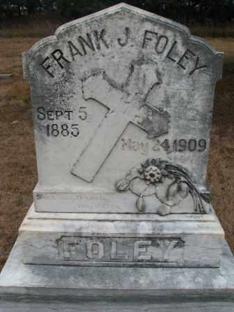 FOLEY, FRANK J. - Bon Homme County, South Dakota | FRANK J. FOLEY - South Dakota Gravestone Photos