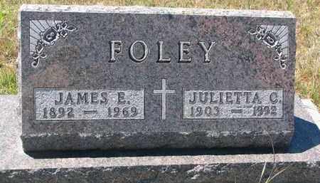 FOLEY, JULIETTA C. - Bon Homme County, South Dakota | JULIETTA C. FOLEY - South Dakota Gravestone Photos