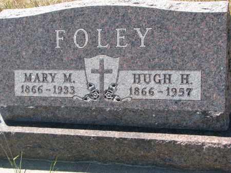 FOLEY, MARY M. - Bon Homme County, South Dakota | MARY M. FOLEY - South Dakota Gravestone Photos