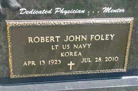 FOLEY, ROBERT JOHN (MILITARY) - Bon Homme County, South Dakota | ROBERT JOHN (MILITARY) FOLEY - South Dakota Gravestone Photos