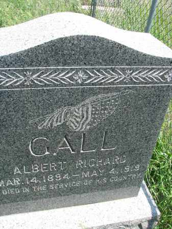 GALL, ALBERT RICHARDS - Bon Homme County, South Dakota | ALBERT RICHARDS GALL - South Dakota Gravestone Photos